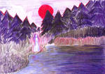 The Sun Girl II by wcqaguxa