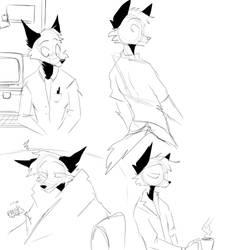 Argentum sketch sheet by zarpaulus