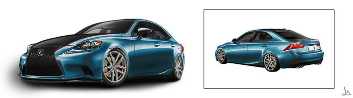 Modified 2014 Lexus IS 250 F Sport by garyjsmith