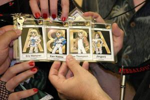 ABBA Badges by damon-gear