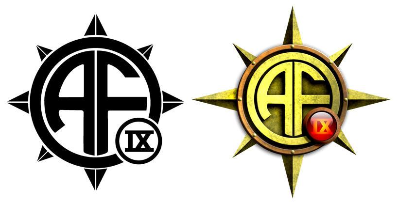 AFO 9 - Compass Logo by damon-gear