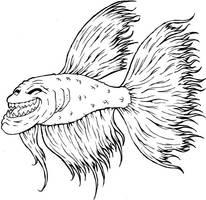 Betta Trollfish by damon-gear