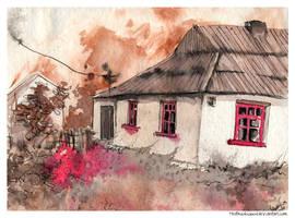 Ukraine house by MrsBrushwood
