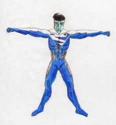 Superman Blue by CDJam