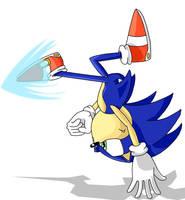 Sonic Kick by Skyphantom