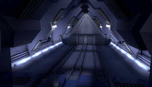 Galactica Launch Tube by Snazz84