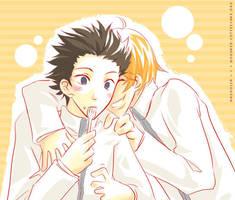 Am I sweeter? by mokuren