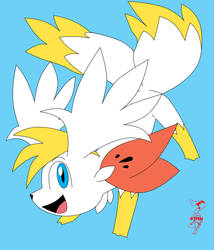 Tails the Shaymin by Fly-Sky-High