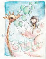 dead angel giraffe by SoraPyper