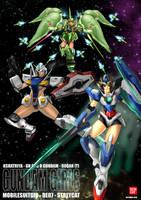 Gundam Girl Art Jam by MobileSuitGio