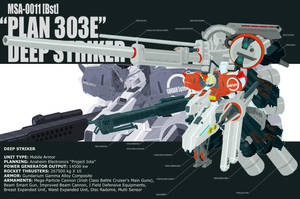 DEEP STRIKER-finished+full ver by MobileSuitGio