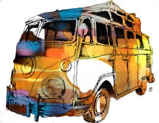 VW Bus by ejaramillo