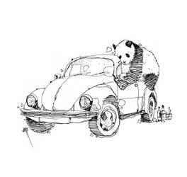 Panda En Copas by ejaramillo