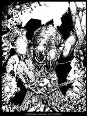 Venom Vs Spidy by ejaramillo