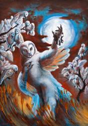 Harvest Moon by Alessio-Scalerandi