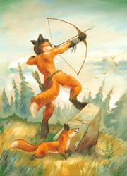 Fox huntress by Alessio-Scalerandi