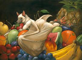 Fruit bath by ScalerandiArt
