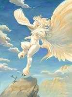 Pegasus by ScalerandiArt