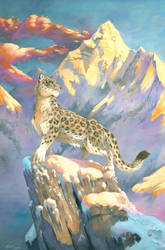 Queen of the Mountains by ScalerandiArt