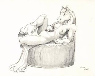 Horsie by ScalerandiArt