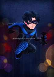 Mini Nightwing by ryodita