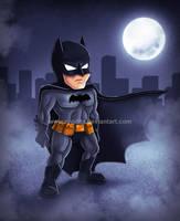 Grumpy little Bat by ryodita