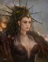 Lady by alikasapoglu