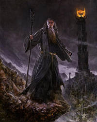 Gandalf by alikasapoglu