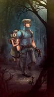 Resident Evil 4 by damnskippy