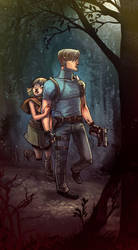 Resident Evil 4 by damnskippy