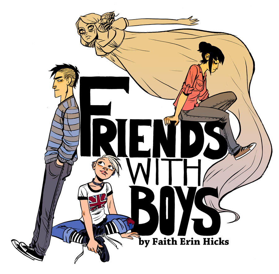 Friends With Boys goes ONLINE by damnskippy