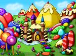 :C: Candy Land by louisalulu