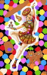 Gingerbread - 2017 by louisalulu