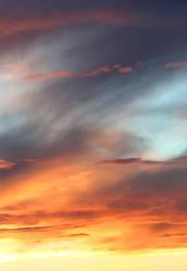 sunset by gravister-stock