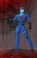 Cobra Commander by JohnJett