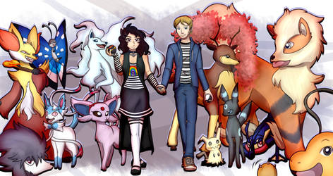 Pokemon Trainersonas by RioDiGennaio