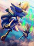 Blu the Mischievous Witch by JubeiSpiegel