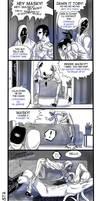 Fan Ticci Toby -evil man- by Ashiva-K-I