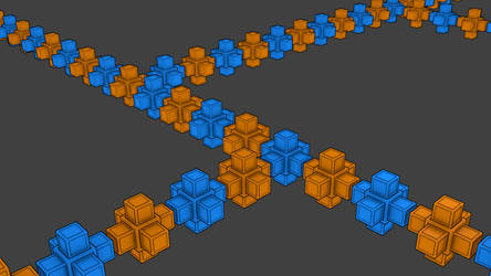 Toon Cubes by LouisIII