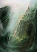 Air Temple by kevywk