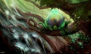 Seed of Yggdrasil by kevywk
