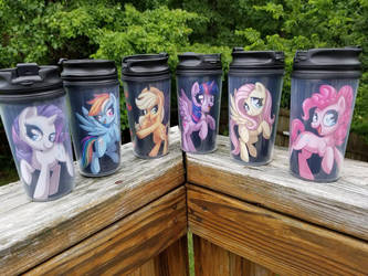 MLP Travel Mugs by Sciggles