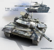 T-90 by Deepskyer