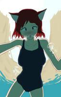 Kitty Pool by UW-FnarFnar