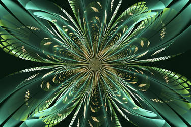 green and gold by tsahel