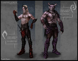 Vampire Lords Character design by ramtin-s