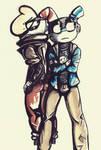 Cupfrontation (gET ITTTT?) by SkeleScene