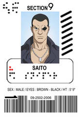 Section 9 ID: Saito by lawrencebrenner