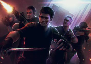 The Raid by BryanValenza