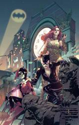 Gotham Sirens 01 by BryanValenza